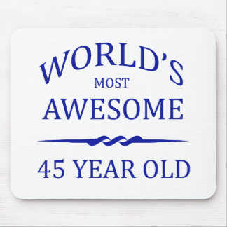 World's Most Awesome 45 Year Old Mouse Pad