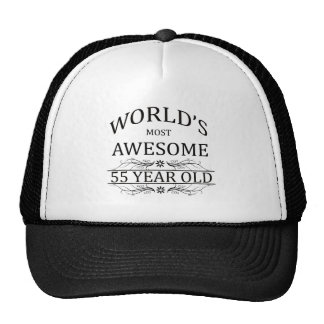 World's Most Awesome 55 Year Old Cap
