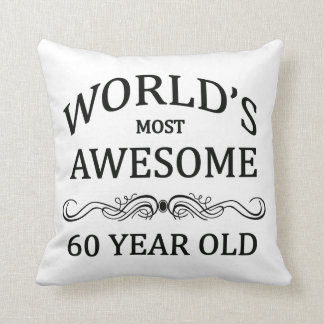 World's Most Awesome 60 Year Old Cushion