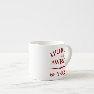 World's Most Awesome 65 Year Old Espresso Mug