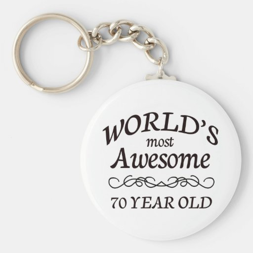 World's Most Awesome 70 Year Old Key Ring