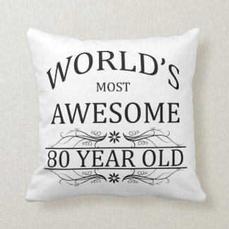 World's Most Awesome 80 Year Old Cushion