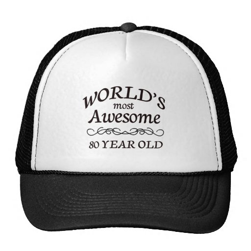 World's Most Awesome 80 Year Old Hats