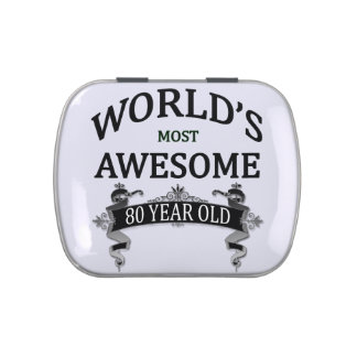 World's Most Awesome 80 Year Old Jelly Belly Tins