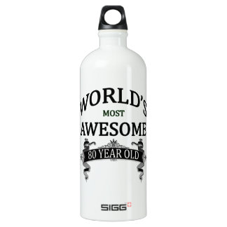 World's Most Awesome 80 Year Old SIGG Traveller 1.0L Water Bottle