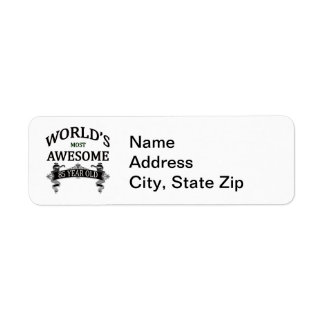 World's Most Awesome 85 Year Old Return Address Label