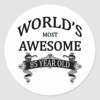 World's Most Awesome 85 Year Old Sticker