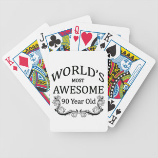World's Most Awesome 90 Year Old Bicycle Playing Cards