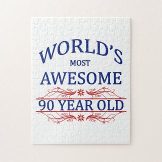 World's Most Awesome 90 Year Old Jigsaw Puzzle