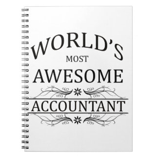 World's Most Awesome Accountant Notebook