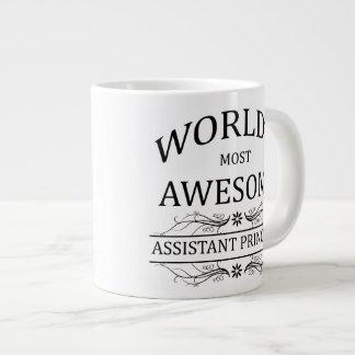 World's Most Awesome Assistant Principal Jumbo Mug