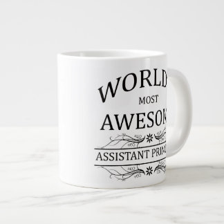 World's Most Awesome Assistant Principal Large Coffee Mug
