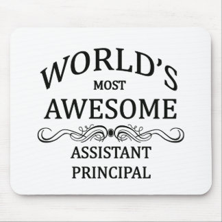 World's Most Awesome Assistant Principal Mouse Mat
