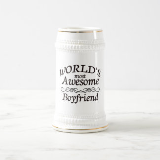 World's Most Awesome Boyfriend Beer Stein