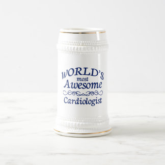 World's Most Awesome Cardiologist Beer Stein