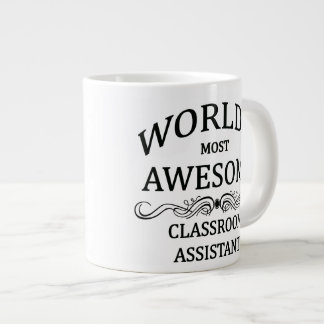 World's Most Awesome Classroom Assistant Jumbo Mug