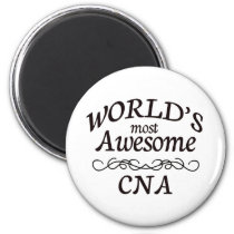 World's Most Awesome CNA Fridge Magnets