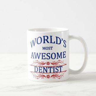 World's Most Awesome Dentist Coffee Mug