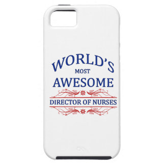 World's Most Awesome Director Of Nurses iPhone 5 Case