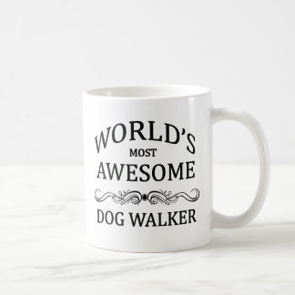 World's Most Awesome Dog Walker Coffee Mug