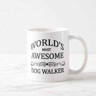 World's Most Awesome Dog Walker Coffee Mug