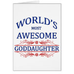 World's Most Awesome Goddaughter