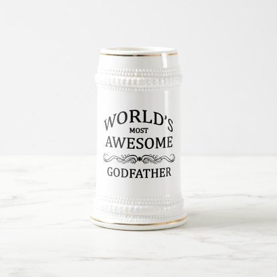 World's Most Awesome Godfather Beer Stein