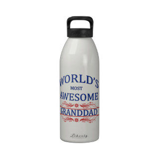 World's Most Awesome Granddad Drinking Bottles