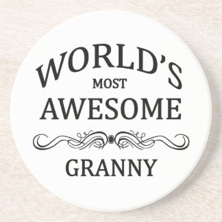World's Most Awesome Granny Coasters