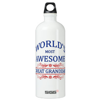 World's Most Awesome Great Granddad SIGG Traveller 1.0L Water Bottle