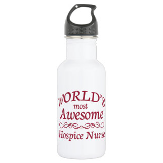 World's Most Awesome Hospice Nurse 532 Ml Water Bottle
