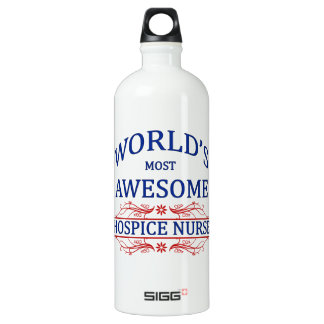 World's Most Awesome Hospice Nurse SIGG Traveller 1.0L Water Bottle