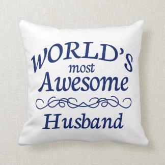 World's Most Awesome Husband Cushion