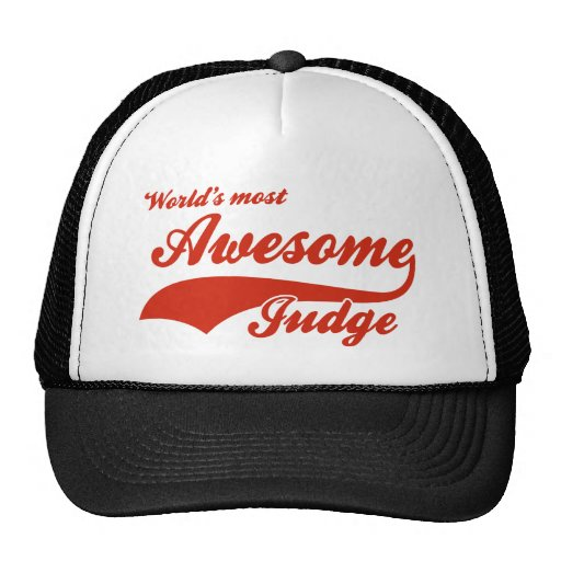 World's Most Awesome judge Hats