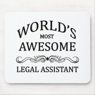 World's Most Awesome Legal Assistant Mouse Pad