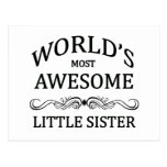 World's Most Awesome Little Sister