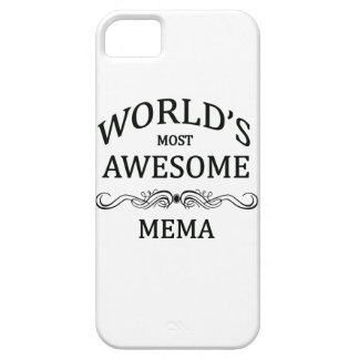 World's Most Awesome Mema Barely There iPhone 5 Case
