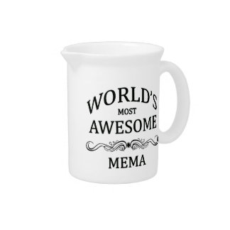 World's Most Awesome Mema Pitcher