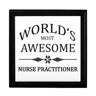 World's Most Awesome Nurse Practitioner Gift Box