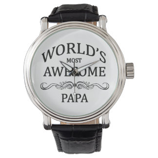 World's Most Awesome Papa Watch