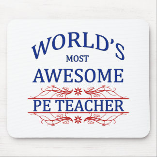 World's Most Awesome PE Teacher Mouse Mat