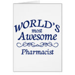World's Most Awesome Pharmacist Cards