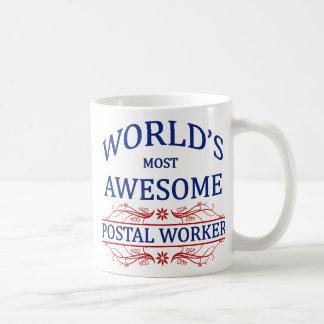 World's Most Awesome Postal Worker Coffee Mug