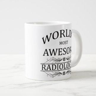 World's Most Awesome Radiologist Large Coffee Mug