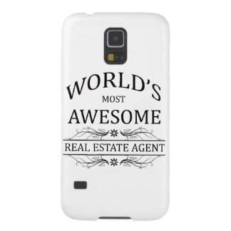 World's Most Awesome Real Estate Agent Galaxy S5 Cover