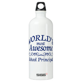 World's Most Awesome School Principal SIGG Traveller 1.0L Water Bottle