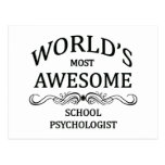 World's Most Awesome School Psychologist