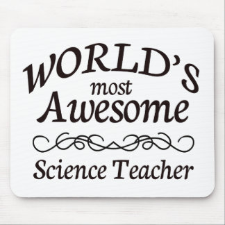 World's Most Awesome Science Teacher Mouse Mat