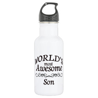 World's Most Awesome Son 532 Ml Water Bottle