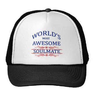 World's Most Awesome Soul Mate Mesh Hat